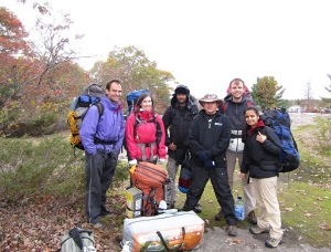 Introduction to backpacking at Torrance Barrens Dark Sky Preserve